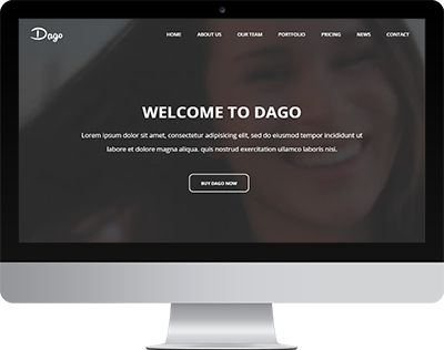Dago - Responsive One Page Template